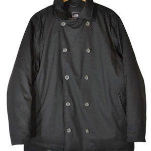 The North Face Lenox Goose Down Black Pea Coat XL
